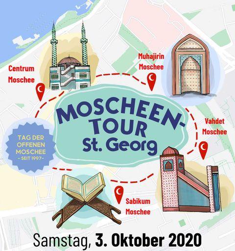 Tag der offenen Moschee – Moscheen-Tour am 3. Oktober 2020 in Hamburg St. Georg